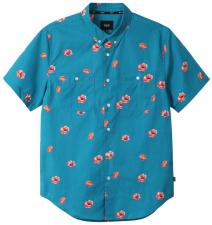 87914957b pánská košilehuf POPPY WOVEN SHIRT Biscay Bay. M; L