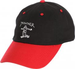 dd5074186d65 pánská kšiltovkathrasher GONZ OLD TIMER HAT Black Red